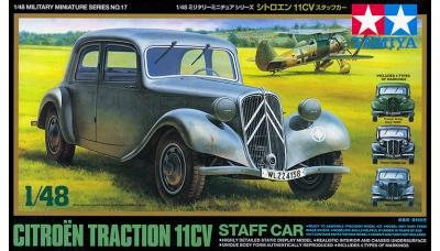 Citroën Traction Avant 11CV 1938 - TAMIYA 32517 1/48