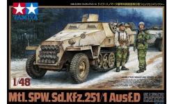 Sd.Kfz. 251/1, Ausf. D, Hanomag - TAMIYA 32564 1/48