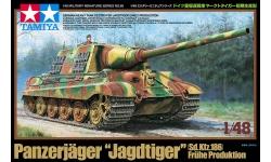 Panzerjäger Tiger, Sd. Kfz. 186, Ausf. B, Henschel, Jagdtiger - TAMIYA 32569 1/48
