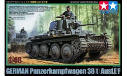 Panzerkampfwagen 38(t), Ausf. E/F, LT vz. 38, ČKD - TAMIYA 32583 1/48