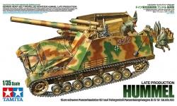 Panzerfeldhaubitze 18M auf Geschützwagen III/IV (Sf), Sd.Kfz. 165, Hummel, DEW - TAMIYA 35367 1/35