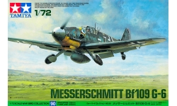 Bf 109G-6 Messerschmitt - TAMIYA 60790 War Bird Collection 90 1/72