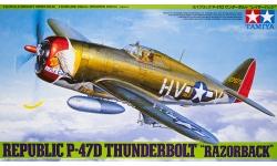 P-47D Republic, Thunderbolt - TAMIYA 61086 1/48