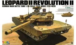 Leopard 2A4 MBT Revolution II KMW, Rheinmetall - TIGER MODEL 4628 1/35