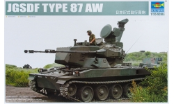 Type 87 Self-Propelled Anti-Aircraft Gun, Mitsubishi/JSW - TRUMPETER 01599 1/35