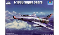 F-100C North American, Super Sabre - TRUMPETER 01648 1/72