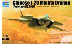 J-20 Chengdu Aircraft Corporation (CAC) - TRUMPETER 01665 1/72