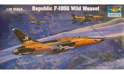 F-105G Republic, Thunderchief - TRUMPETER 02202 1/32