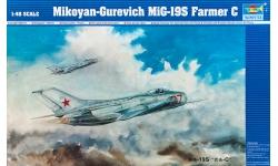 МиГ-19С - TRUMPETER 02803 1/48