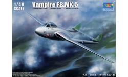 Vampire FB.Mk. 5 de Havilland - TRUMPETER 02874 1/48