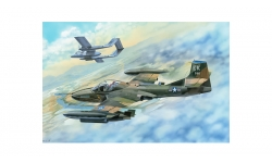 A-37B Cessna, Dragonfly - TRUMPETER 02889 1/48