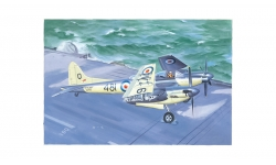 Sea Hornet NF.Mk. 21 de Havilland - TRUMPETER 02895 1/48