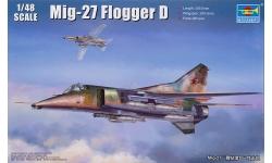 МиГ-27 (МиГ-23БМ) - TRUMPETER 05802 1/48