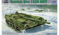 Stridsvagn 103B (Strv 103B) Bofors AB, MBT - TRUMPETER 00309 1/35