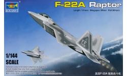 F-22A Lockheed Martin, Raptor - TRUMPETER 01317 1/144