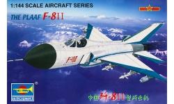 J-8IIB, J-8B Shenyang Aircraft Corporation (SAC) - TRUMPETER 01328 1/144