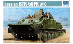 БТР-50ПК - TRUMPETER 01582 1/35