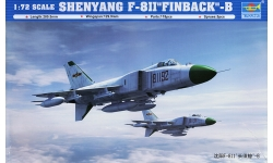 J-8IIB, J-8B Shenyang Aircraft Corporation (SAC) - TRUMPETER 01610 1/72