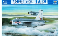 Lightning F.3 English Electric - TRUMPETER 01635 1/72