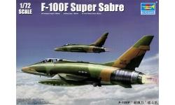 F-100F North American, Super Sabre - TRUMPETER 01650 1/72