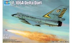 F-106A Convair, Delta Dart - TRUMPETER 01682 1/72