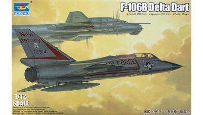 F-106B Convair, Delta Dart - TRUMPETER 01683 1/72