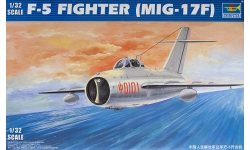 МиГ-17Ф Микоян и Гуревич / J-5 Shenyang Aircraft Corporation - TRUMPETER 02205 1/32