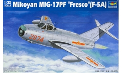 МиГ-17ПФ Микоян и Гуревич / J-5A Shenyang Aircraft Corporation - TRUMPETER 02206 1/32