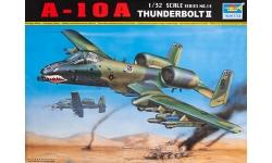 A-10A Fairchild Republic, Thunderbolt II - TRUMPETER 02214 1/32