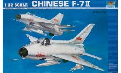 J-7II Chengdu Aircraft Corporation (CAC) - TRUMPETER 02216 1/32