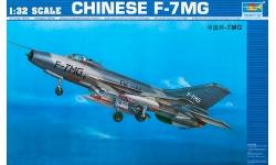 J-7MG Chengdu Aircraft Corporation (CAC) - TRUMPETER 02220 1/32