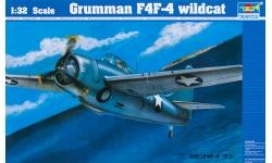 F4F-4 Grumman, Wildcat - TRUMPETER 02223 1/32