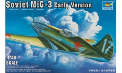 МиГ-3 Микоян и Гуревич - TRUMPETER 02830 1/48