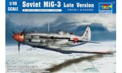 МиГ-3 Микоян и Гуревич - TRUMPETER 02831 1/48