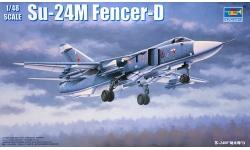 Су-24М/МК Сухой - TRUMPETER 02835 1/48