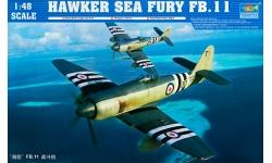 Sea Fury FB.Mk 11 Hawker - TRUMPETER 02844 1/48
