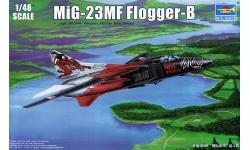МиГ-23МФ - TRUMPETER 02854 1/48