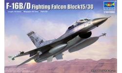 F-16B/D General Dynamics, Fighting Falcon - TRUMPETER 03920 1/144