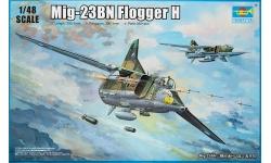 МиГ-23БН - TRUMPETER 05801 1/48