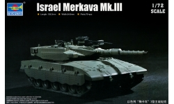 Merkava Mk. III MANTAK/IMI - TRUMPETER 07103 1/72