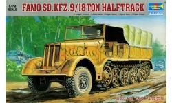 Schwerer Zugkraftwagen 18t, Sd.Kfz. 9, F3, FAMO - TRUMPETER 07203 1/72