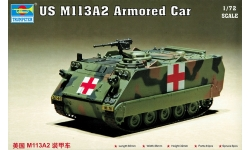 M113A2 Food Machinery Corp (FMC) - TRUMPETER 07239 1/72