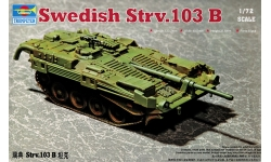 Stridsvagn 103B (Strv 103B) Bofors AB, MBT - TRUMPETER 07248 1/72