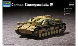 Sturmgeschütz IV, Sd.Kfz. 167, Krupp, StuG IV - TRUMPETER 07261 1/72