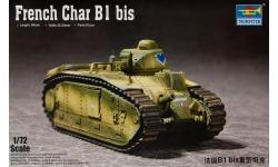 Char B1 bis, Renault, Schneider et Cie - TRUMPETER 07263 1/72