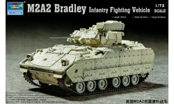 M2A2 BAE Systems Land & Armaments, Bradley Fighting Vehicle - TRUMPETER 07296 1/72