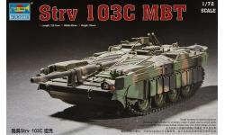 Stridsvagn 103C (Strv 103C) Bofors AB, MBT - TRUMPETER 07298 1/72