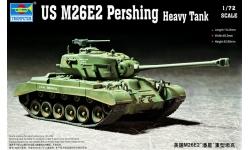 M26E2, Pershing - TRUMPETER 07299 1/72