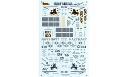 F-14D Grumman, Tomcat - TWOBOBS 48-031 1/48