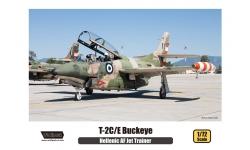 T-2C/E North American Aviation (NAA), Buckeye - WOLFPACK DESIGN WP10009 1/72